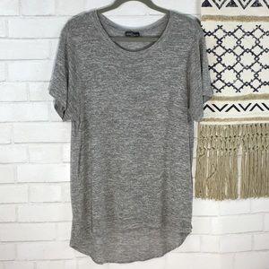 Market & Spruce Short Sleeve Knit Top Size Large